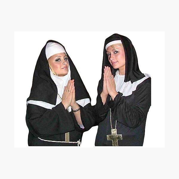 Saint Paris Hilton and Nicole Richie Photographic Print