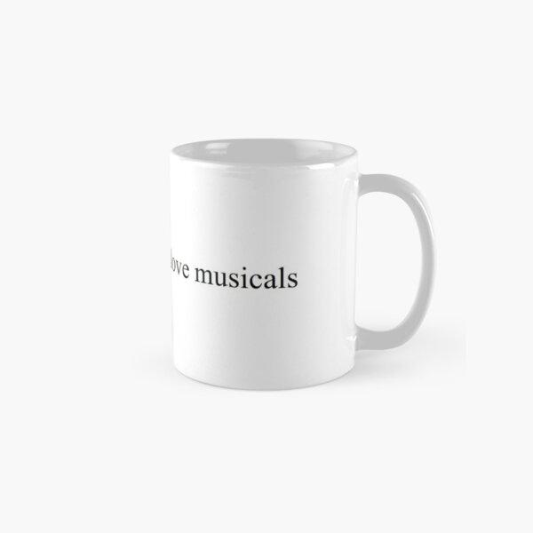 Musicals love Classic Mug