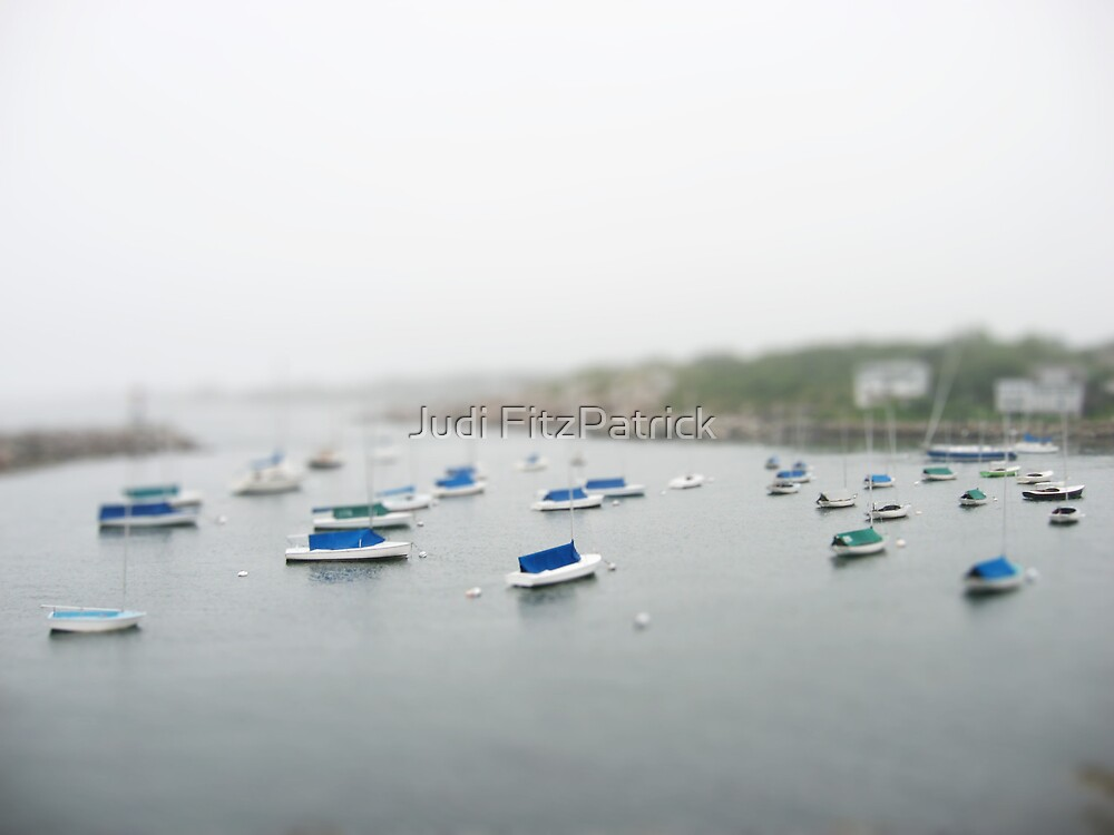 Reduced Rockport Harbor by Judi FitzPatrick
