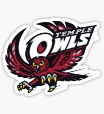 Temple University Owls Sticker