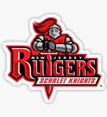 Rutgers Scarlet Nights Logo Sticker