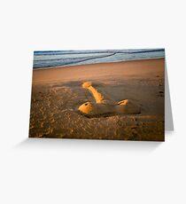 Sand Dick Greeting Card
