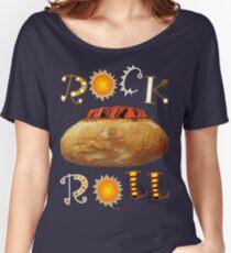ck Roll DesignRock Roll Australia RRock Roll DesignRRock Roll DRRRROOO Women's Relaxed Fit T-Shirt
