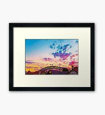 Cloud Pow Framed Print