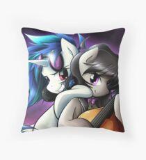 Vinyl & Octavia Throw Pillow