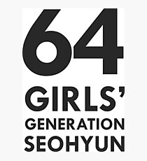 girls generation seohyun 64 Photographic Print