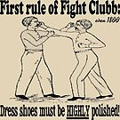 First Rule of Fight Clubb by tommytidalwave