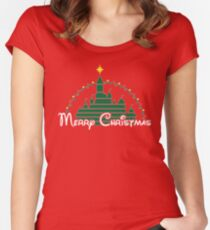 Magical Christmas Women's Fitted Scoop T-Shirt