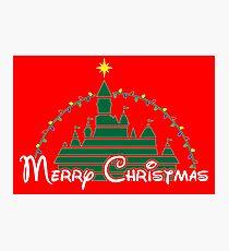 Magical Christmas Photographic Print