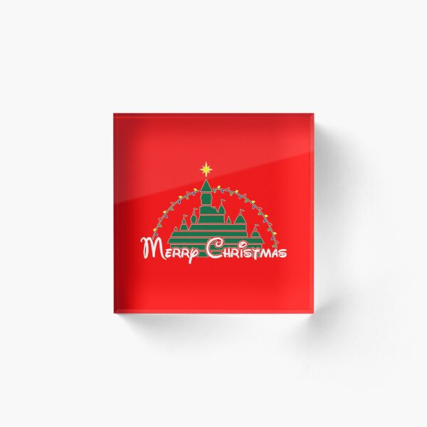 Magical Christmas Acrylic Block