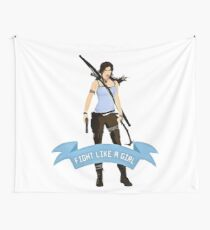 Lara Croft Wall Tapestry
