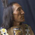 Little Dog - Brulé Lakota Sioux - American Indian by DanKeller