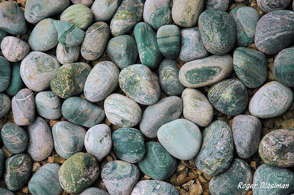 Health Stones by Roger Olasiman