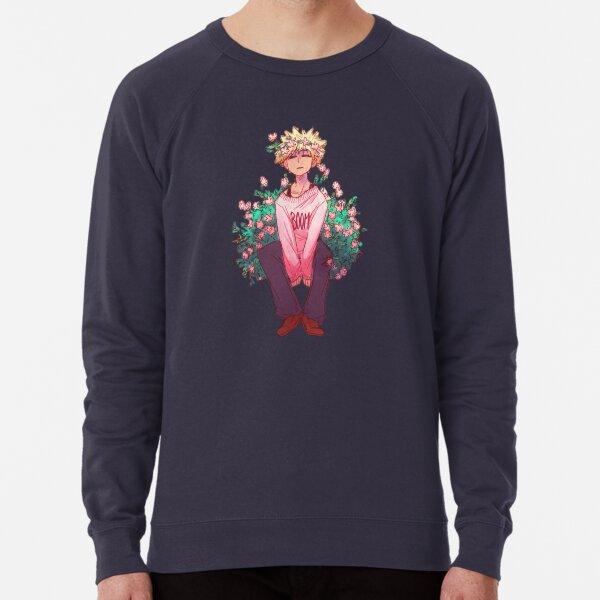 Bakugou in Pink Lightweight Sweatshirt