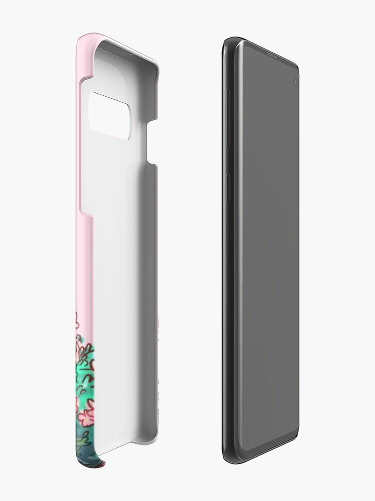 Alternate view of Bakugou in Pink Case & Skin for Samsung Galaxy