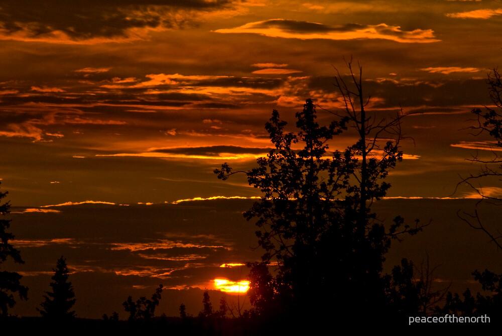 July Sunset by peaceofthenorth