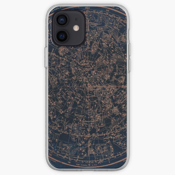 Constellations of the Northern Hemisphere iPhone Soft Case