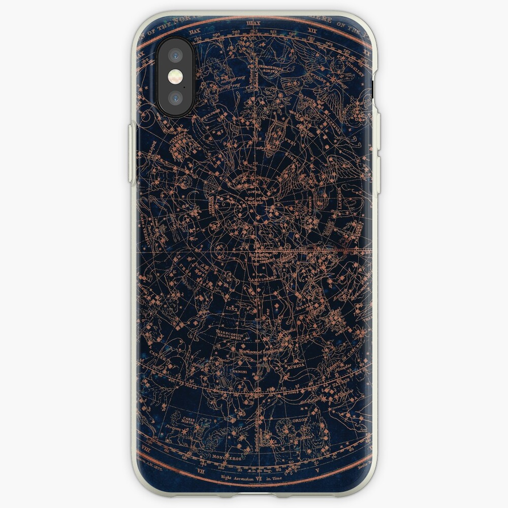 Constellations of the Northern Hemisphere iPhone Case & Cover