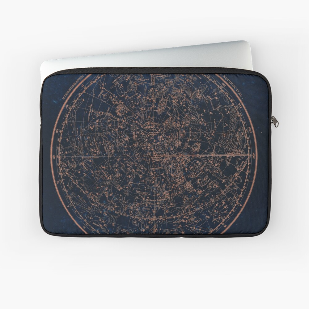 Constellations of the Northern Hemisphere Laptop Sleeve