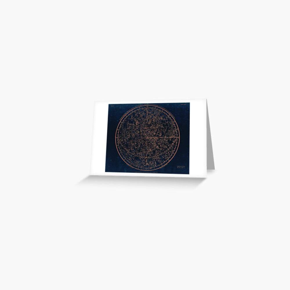 Constellations of the Northern Hemisphere Greeting Card