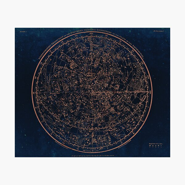 Constellations of the Northern Hemisphere Photographic Print