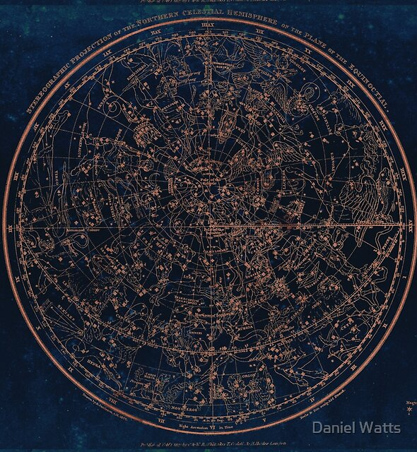 Constellations of the Northern Hemisphere by Daniel Watts
