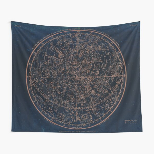 Constellations of the Northern Hemisphere Tapestry