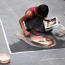 Pavement Artista by Georgia Bayliff