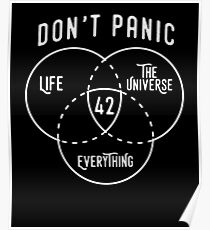 42 The Answer to Life, Universe, and Everything. Poster