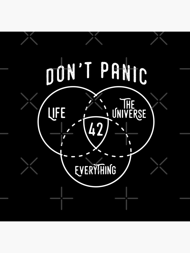 42 The Answer to Life, Universe, and Everything. by japdua
