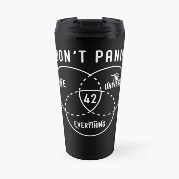 42 The Answer to Life, Universe, and Everything. Travel Mug