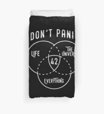 42 The Answer to Life, Universe, and Everything. Duvet Cover