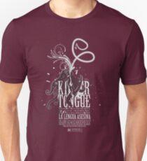 killer tongue v1 (dark tee) T-Shirt
