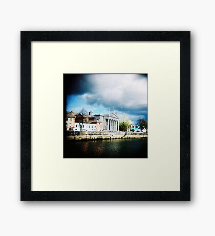 St. Mary's After Oglandby Framed Print