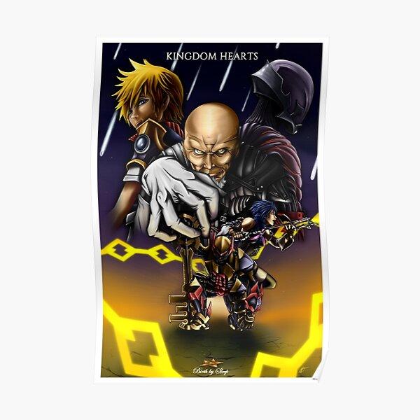 Kingdom Hearts - Birth By Sleep Poster