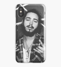 Post Malone B&W iPhone Case/Skin