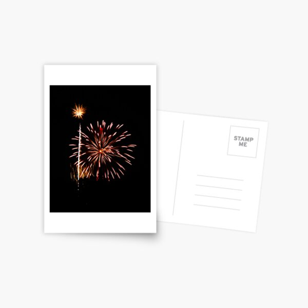Fireworks - Turkey Postcard