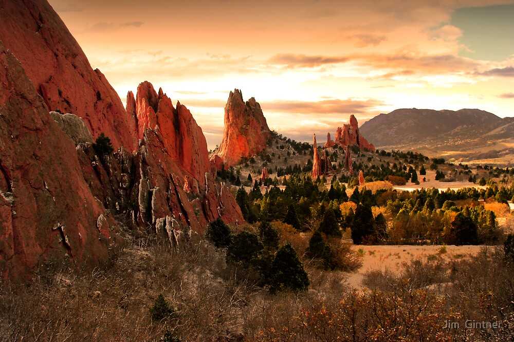 Garden Of The Gods by Jim  Gintner
