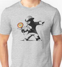 Banksy Mario Flower Thrower Unisex T-Shirt