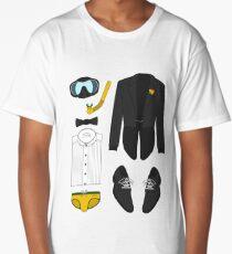 A FORMAL PENGUIN AFFAIR Long T-Shirt