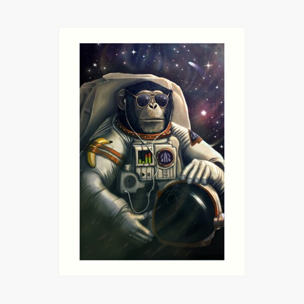 Space Farer Art Print