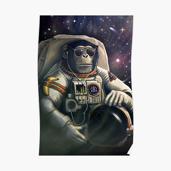 Space Farer Poster