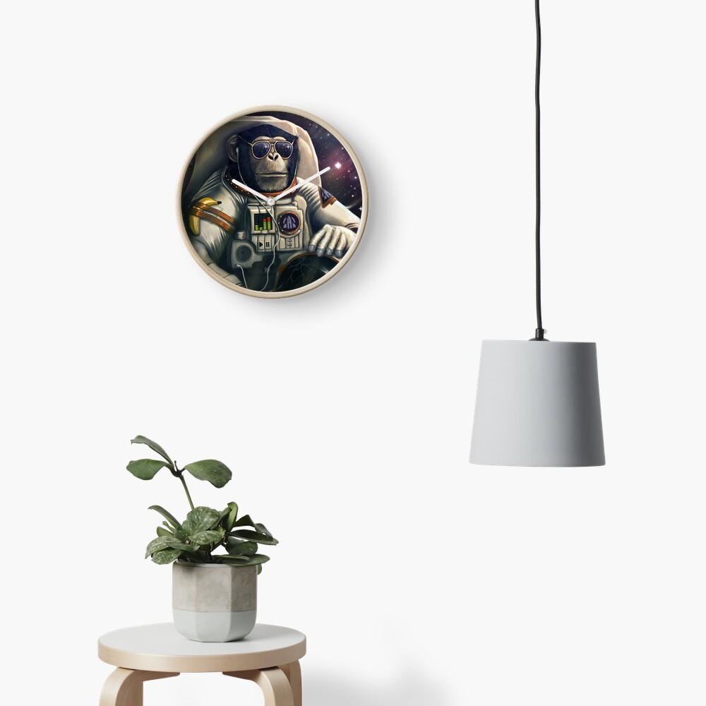 Portador del espacio Reloj