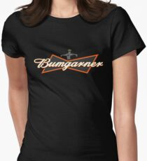 Bumgarner - The King Of Baseball Womens Fitted T-Shirt