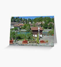 The Swiss Capital, Hardly Urban Greeting Card