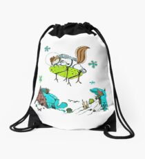 Deep Sea Adventure Drawstring Bag