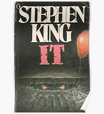 Stephen King IT pennywise the clown  Poster