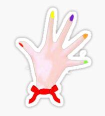Dexter Hands Sticker