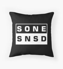 SONE - SNSD Throw Pillow