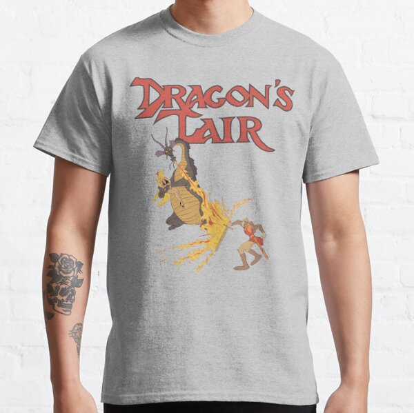 Old dragon with his logo Classic T-Shirt